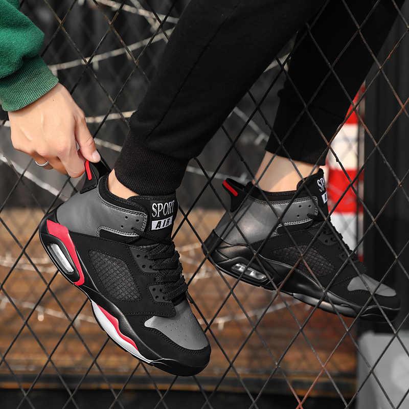 New Outdoor Jordan Scarpe Da Basket Degli Uomini Scarpe Da Ginnastica Jordan Scarpe Traspiranti antiscivolo Scarpe Da Tennis Grande Formato 46 Retro Scarpe Sportive stivali
