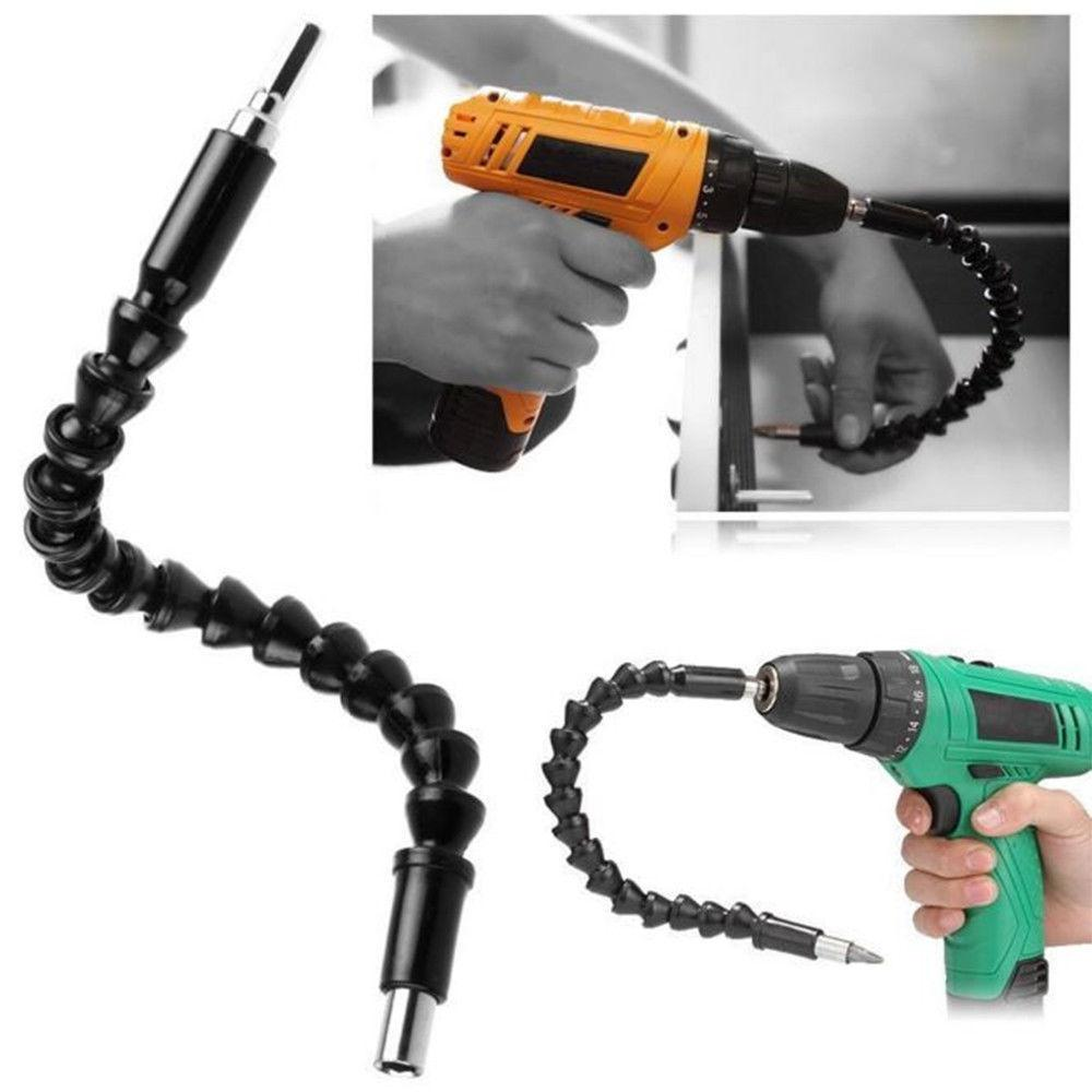 1PCs 295mm Flexible Shaft Bits Extension Screwdriver Bit Electric Drill Power Tool Accessories Indexable