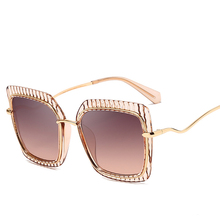 Sunglasses High Quality Women Oculos Sol Feminino Gafas Mujer Fashion Shades Ove