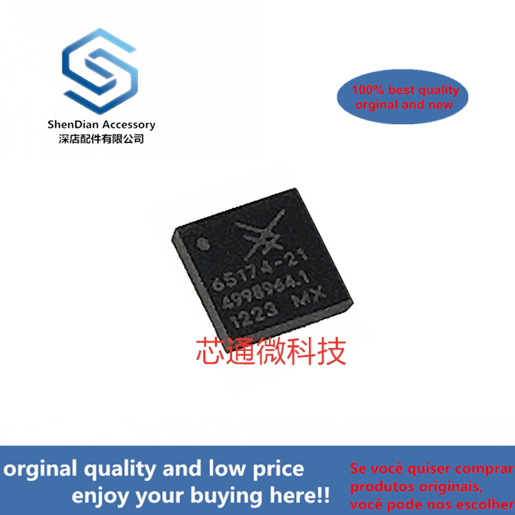 2-10pcs 100% Orginal New Best Qualtiy SKY65174-21 QFN 2.4 To 2.5 GHz WLAN Power Amplifier Module  In Stock