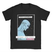 Camisetas De Watchmen para hombres, camisas Hipster de personajes del Dr. Smiley, la nueva película de Alan Morris, Emo, Nihilist, héroes, 100% de tela de algodón, novedad
