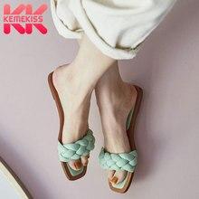KEMEKISS New Design Women Sandals Fashion Gladiator