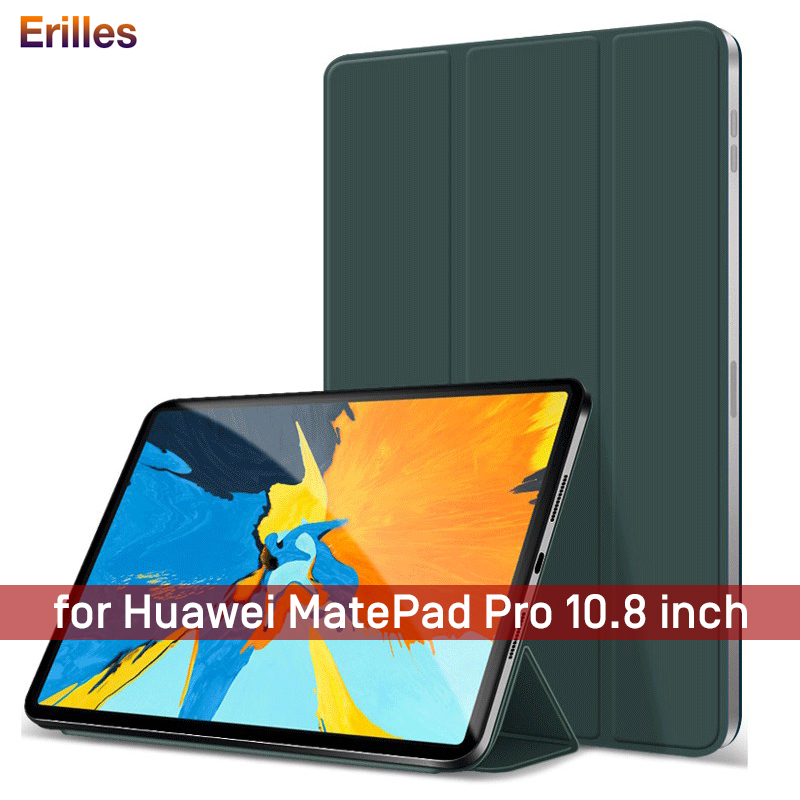 Official Original Magnetic Case With Pencil Holder For Huawei MatePad Pro 10.8 2019 MRX-W09 W19 AL09 AL19 PU Leather Smart Cover