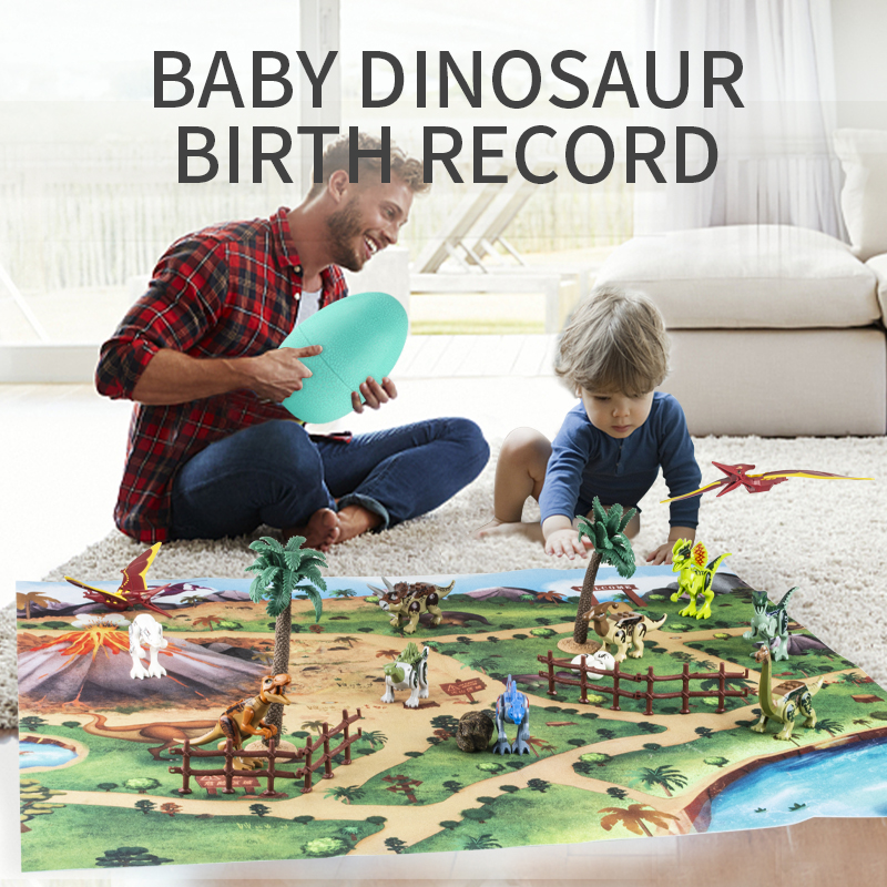 Dinossauro blocos de construção para legoes jurássico parque árvore floresta animal ovo figura ação mundo crianças brinquedos educativos