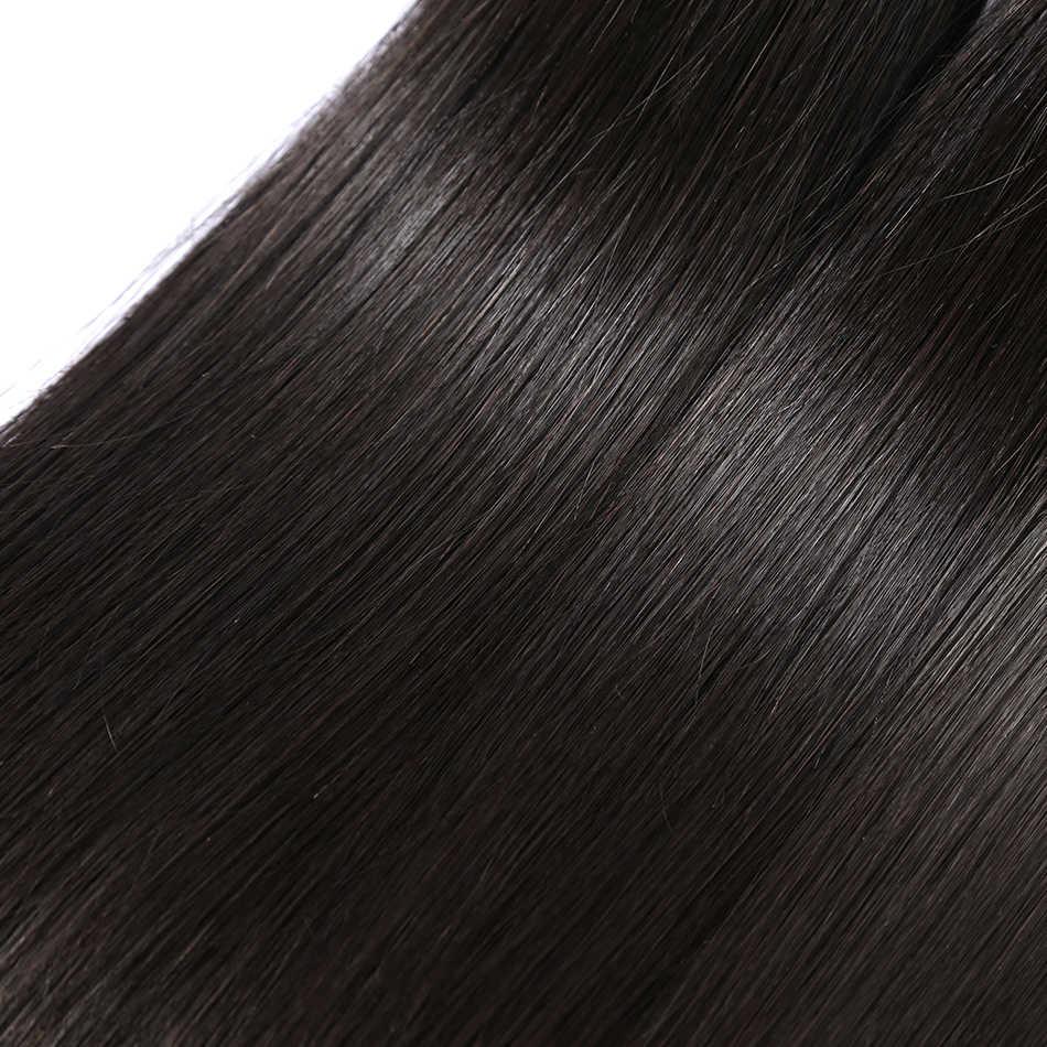 Linksbeauty 8 إلى 28 30 40 بوصة اللون الطبيعي وصلة شعر بيروفية مموجة 1 3 4 حزم مستقيم 100% ريمي شعر مستعار بشري لحمة