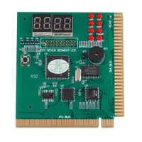 Carte PCI Express de bureau de testeur de carte mère de Diagnostic d'analyse de 4 chiffres