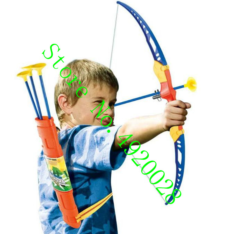 New high-quality children's bow and arrow shooting design safe hunting game fun children indoor and outdoor entertainment 2019 image