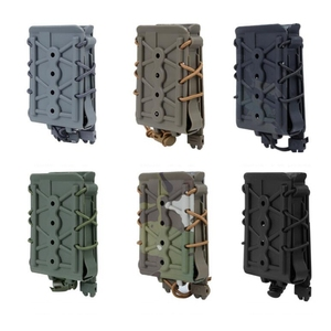 New Top quality Tactical Molle System 5.56 7.62 Magazine Pouch Fast Mag Pouch Holster Belt Clips Pop lock Nylon Molle Pouch