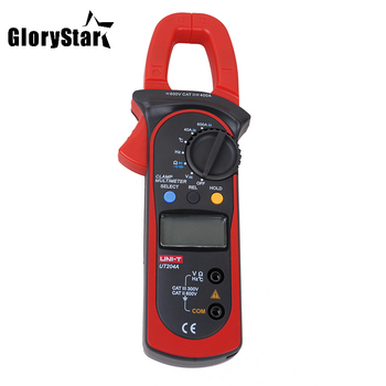 Glory Star UT204A DC/AC Voltage Current Digital Clamp Meter with Resistance, Capacitance, Frequency and Temperature Measurement