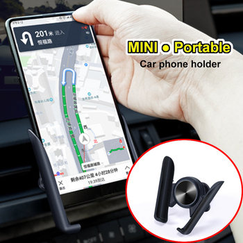 MINI Car Phone Holder for iPhone Redmi Huawei Vents Phone Holder For Renault Megane 2 3 Duster VW Touran Passat B6 Golf 7 T5 T4  image