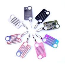 Фирменное кольцо, розовый брелок, модный автомобильный брелок, серебряное кольцо, брелок из нержавеющей стали, стильное кольцо для джипа, 8 цветов, DFDF