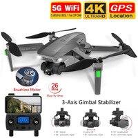 Dron SG907 MAX GPS con cámara de cardán de 3 ejes 4K HD 5G Wifi gran angular FPV flujo óptico RC Quadcopter vs SG906