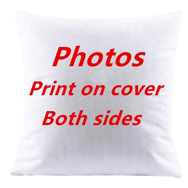 Ev ve Bahçe'ten Minder Kılıfı'de 10 adet yastık kapakları birlikte her iki tarafta Tasarım Resim burada Baskı Pet düğün hayatı fotoğraf hediye özelleştirmek ev yastık kılıfı'da  Grup 2