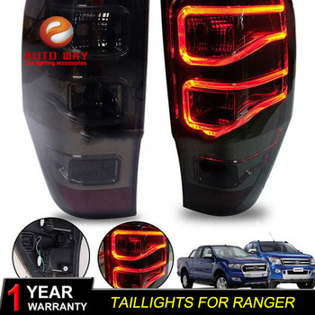 Car Styling Head Lamp for Ford Ranger mustang Ranger Taillights LED Ranger Taillight ANGEL EYES DRL Bi-Xenon Lens HID