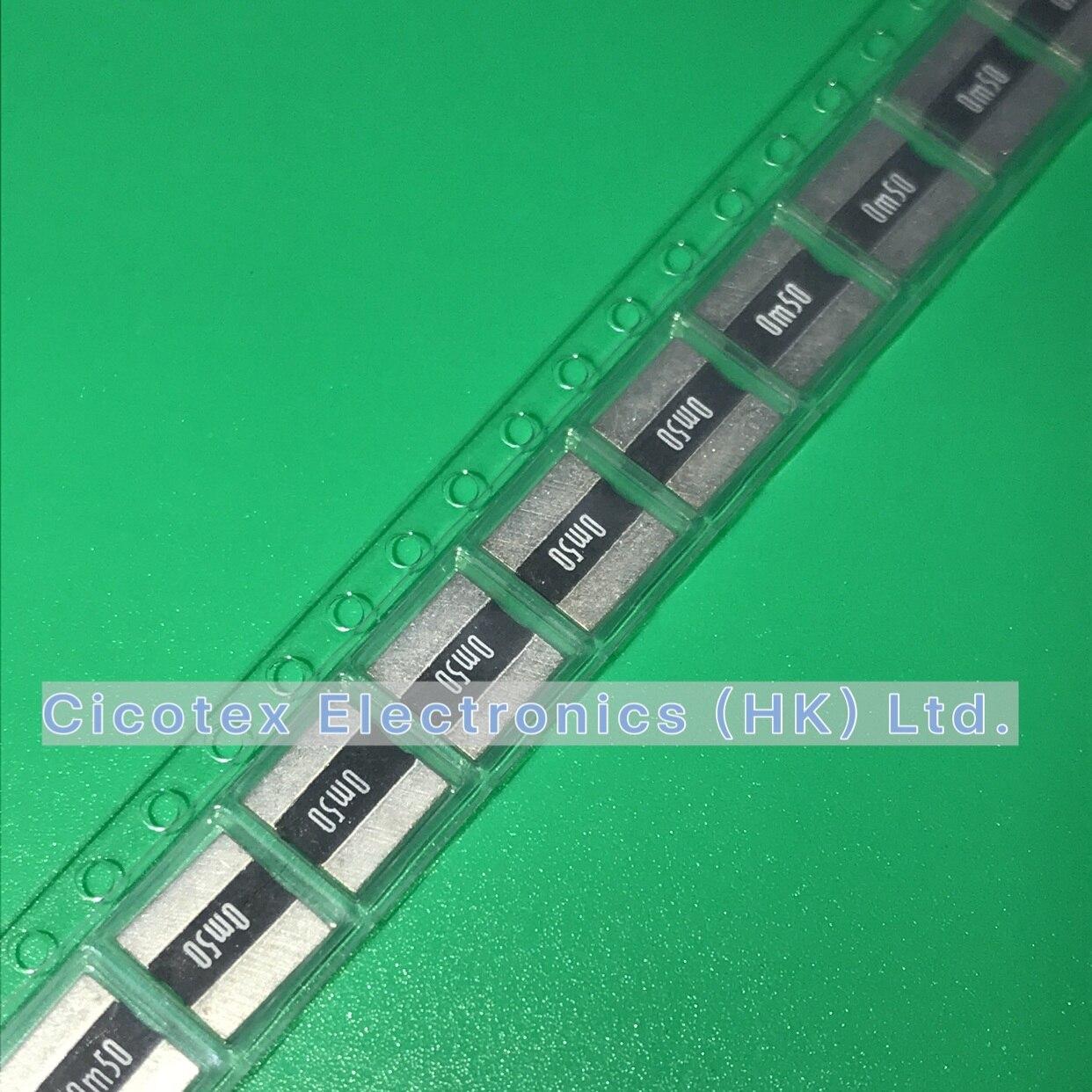 10pcs/lot LR2725-24R0005F1 SMD LR 2725-24 R0005F1 4W 1% R0005 0.0005R 0.5MR 0m50 LR2725 LR272524R0005F1 2725-0.0005RF