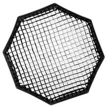 Triopo 55cm/65cm/90cm grade do favo de mel para triopo, dobrável softbox octogon guarda chuva, fotografia acessórios do estúdio