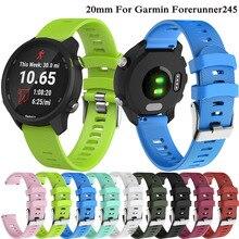 Accessoires intelligents Bracelet officiel Silicone bracelets de montre Bracelet de sport pour Forerunner 245/245M/645/Vivoactive3/Vivomove HR Bracelet