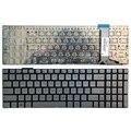 Американская Серебряная клавиатура для ноутбука ASUS GL752 GL752V GL752VL GL752VW GL752VWM ZX70 ZX70VW G58 G58JM G58JW G58VW