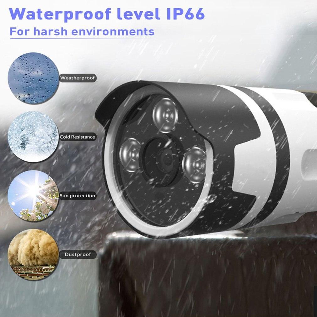 2020 bezprzewodowy System cctv 720P 1080P 2MP NVR IP IR-CUT zewnętrzna kamera telewizji przemysłowej zabezpieczenia IP System wideo zestaw do nadzorowania ue wtyczka