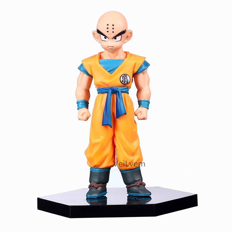 Dragon Ball Z Super Krillin Kuririn PVC Action Figure Collectible Model Toy DBZ Figures