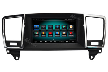Car HD touch screen radio multimedia player GPS navigation for-Mercedes-Benz ML GL 2012 2013 2014 2015 car autoradio stereo image