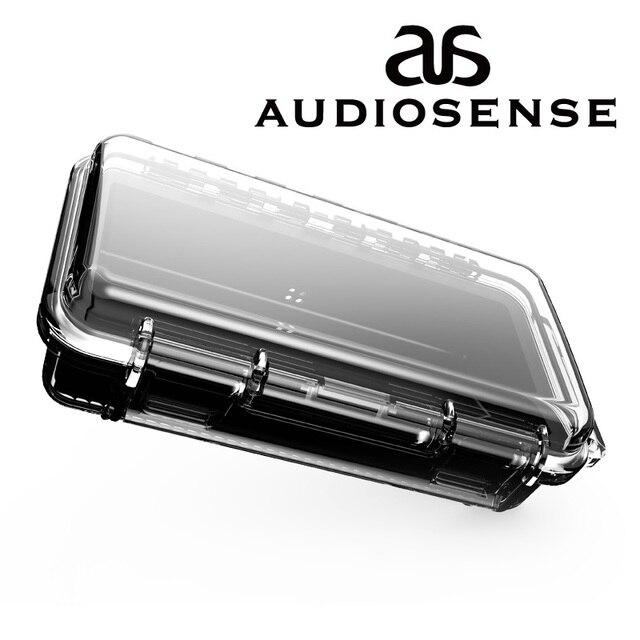 AUDIOSENSE waterproof earphone carrying case Hard Travel Portable Case Protective case Earphone box