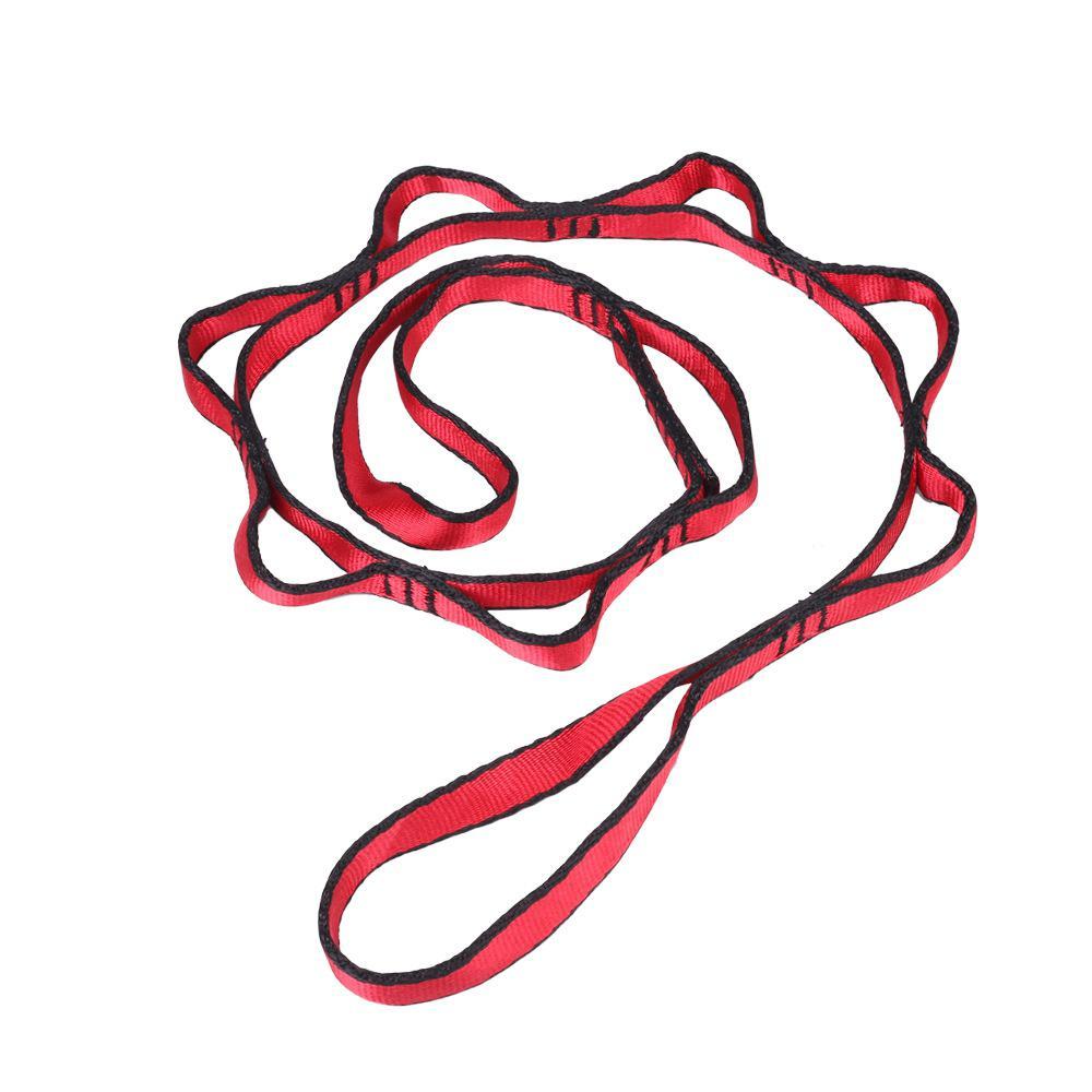 Hanging Rope Climbing Rope Chrysanthemum Fitness Equipment Outdoor Climbing Flat Belt Anti Gravity Yoga Accessories Air Hammock
