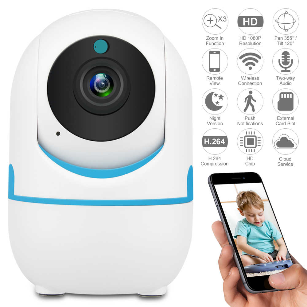 2019 Nieuwe Defeway 1080P Draadloze IP Camera Home Security IP Camera Surveillance Camera Wifi Nachtzicht CCTV Camera Baby monitor