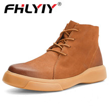 2019 Luxury Italy Brand Hot Autumn And Winter Boots Men Casual Shoes