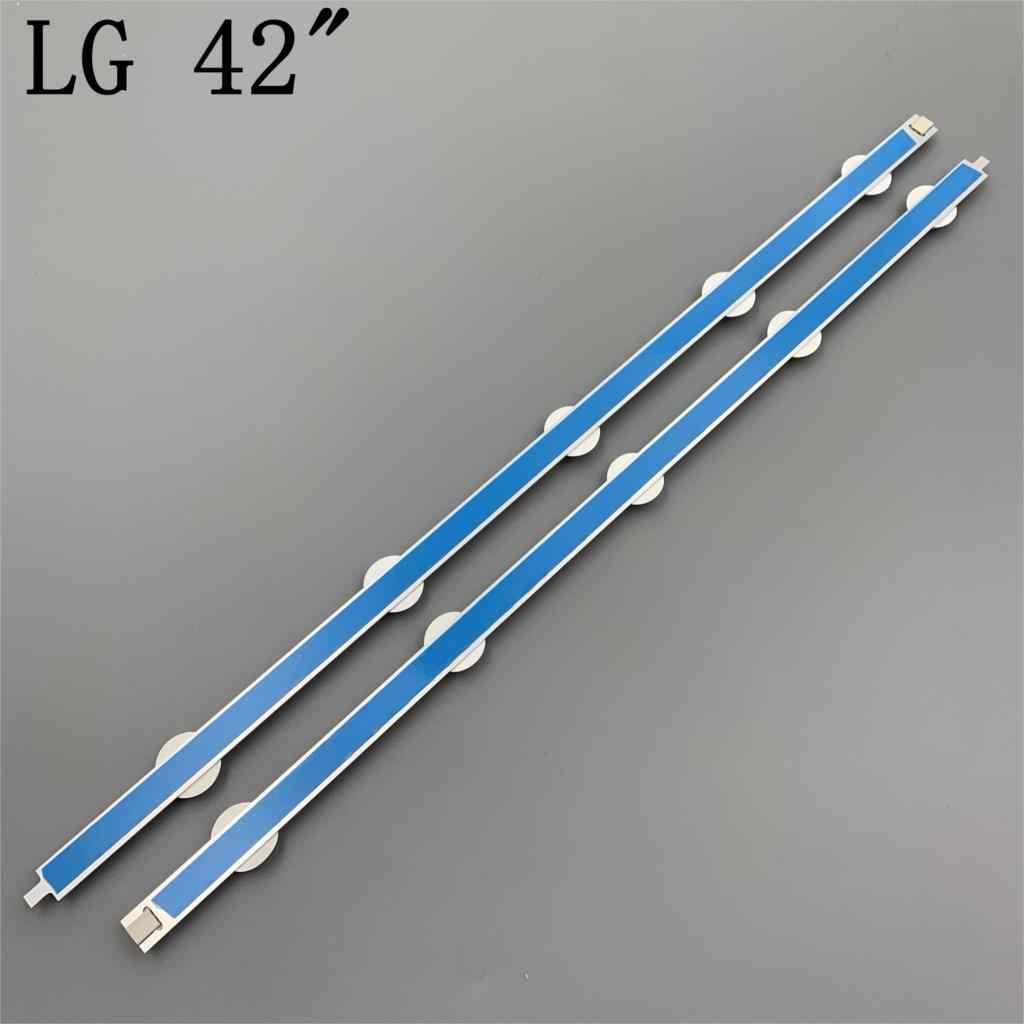 "LED טלוויזיה תאורה חלק עבור LG 42LN542V 42LN541V 42LN541U LED ברים תאורה אחורית רצועות קו שליט 42 ""ROW2.1 Rev 0.01 l1 R1 R2 L2"