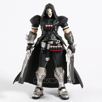 Hot Game OW Reaper Figma 393 PVC Action Figure Collectible Model Toy 1
