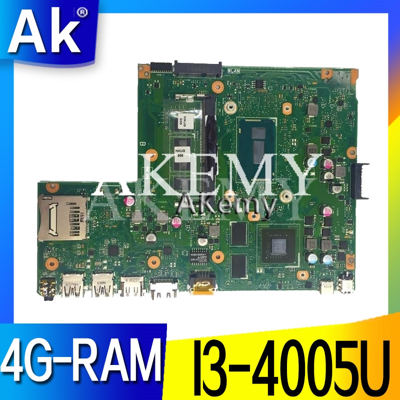 X540LJ For <font><b>ASUS</b></font> <font><b>X540L</b></font> F540L X540LJ <font><b>X540L</b></font> Laptop <font><b>motherboard</b></font> 4G-RAM I3-4005U GT920M REV2.1 Test before shipping work 100% image