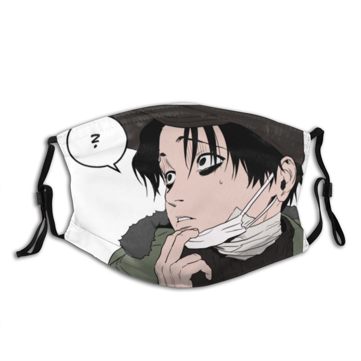 Yoonbum Killing Stalking Reusable Mouth Face Mask Yaoi Anti Bacterial Dust Mask With Filters Protection Cover Respirator Muffle