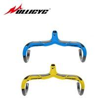 Синий, желтый, высокое качество, шоссейный углеродный руль, велосипедный цикл, изогнутый бар, части для велосипеда, черный, 28,6 мм, стебли, 3 K, матовый и глянцевый