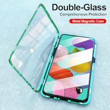 Adsorbimento magnetico di Vibrazione della Cassa Del Telefono Per Samsung Galaxy A51 A21s A71 A70 A30s M30s A50 Della Copertura Posteriore su Samsun UN caso Magnete di 50 UN 51