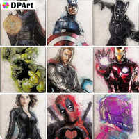 Diamond Painting 5D Full Square/Round Drill Film Movie Characters 5D Daimond Embroidery Painting Cross Stitch Mosaic Pic M1234