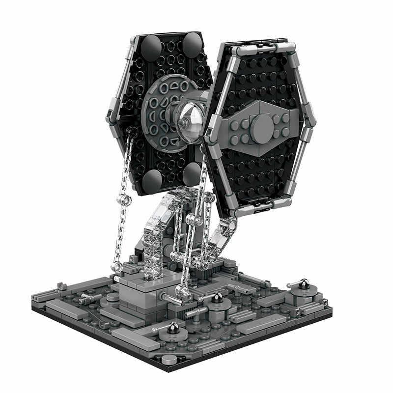 2020 Star Wars Astronave Microfighters A-A Vulture Droid Snowspeeder Fighter Building Blocks Giocattoli Dei Mattoni Giocattoli