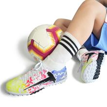 Cleats Football-Boots Soccer-Shoes Sport-Sneakers Training High-Ankle Kids TF/FG Outdoor