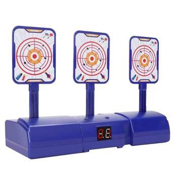 Nuevo Popular puntaje electrónico móvil de alta precisión Auto reinicio blanco eléctrico para Nerf juguetes de deportes al aire libre divertido juguetes pistola