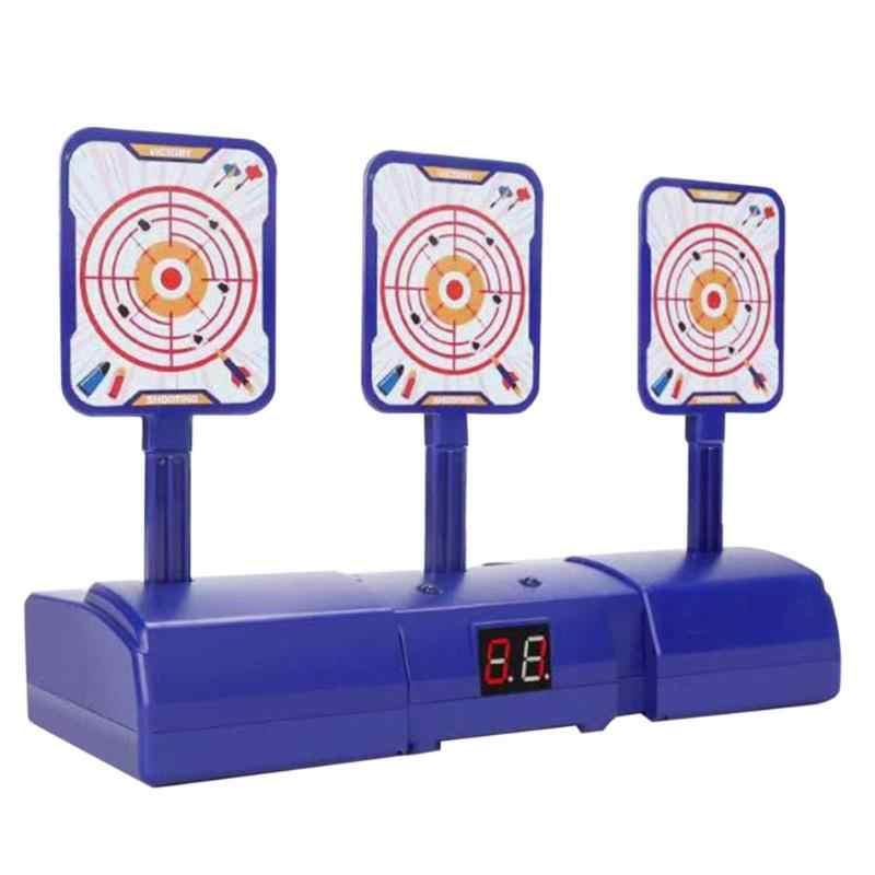Nuovo Popolare Punteggio Elettronico In Movimento Ad Alta Precisione Auto Reset Elettrico Obiettivo per Nerf Giocattoli di Sport Esterni di Divertimento Giocattoli Pistola