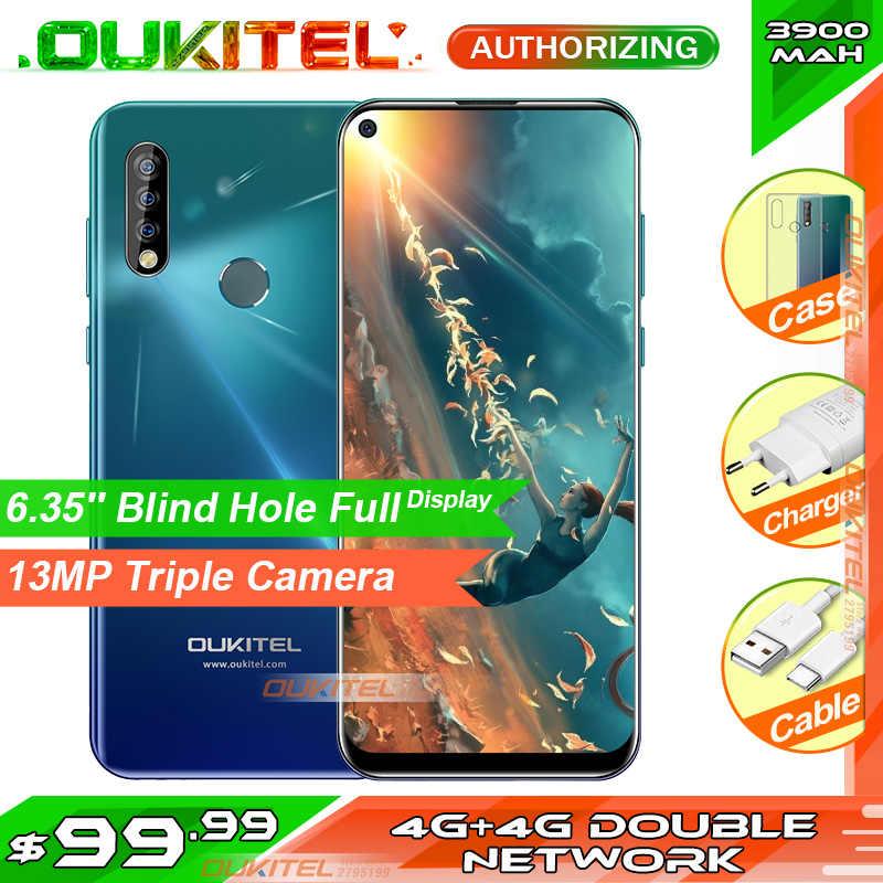 Oukitel C17 Pro 6.35 ''19:9 RAM 4GB Rom 64GB MT6763 Điện Thoại Thông Minh 13MP Vân Tay Octa Core Android 9.0 4G Di Động 3900 MAh
