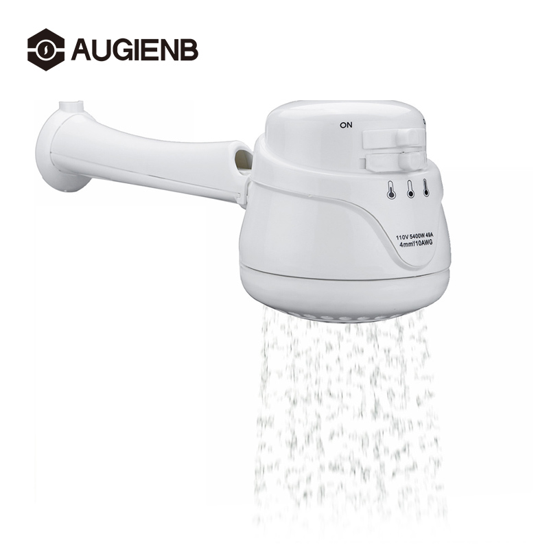 Mini  Electric Water Heaters With Hose 110V/220V 2300W-5400W Low/High/Medium Three Water Temperature 2 Switches Control