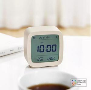 Image 3 - Youpin cleargrass bluetooth digital termômetro de temperatura e umidade monitoramento lcd tela despertador luz da noite