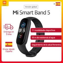 Version mondiale Xiaomi Mi bande 5 Bracelet intelligent 1.1