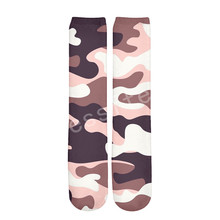 Tessffel Camo Hunter soldier New Fashion Harajuku casual Unisex 3Dfull Print boys/girls/mens/womens colorful ankle socks style-1