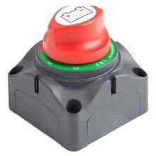 Interruptor principal do isolador da desconexão de 3 posições, interruptor cortado da matança da energia da bateria 12-60v, apto para o carro/veículo/rv/barco/marinho, 200/
