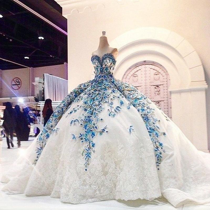 IMG809 Romantic Big Ball Gown Wedding