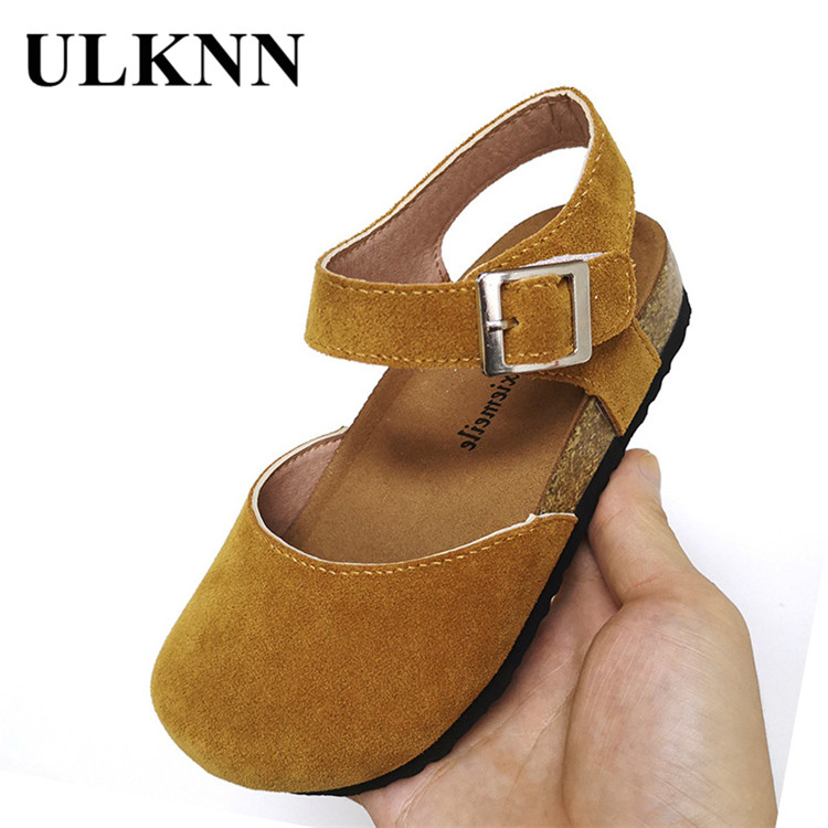ULKNN Children Leather Shoes Korean-style Children's Shoes 2020 Spring New Style Men And Women Kid's  Shoes Wholesale