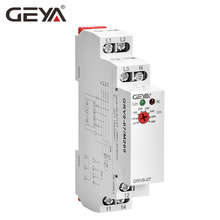 Free Shipping GEYA GRV8-07 Power Protection Relay 3 Phase Voltage Monitor Phase Sequence Control Relays geya grv8 08 overvoltage undervoltage relay phase sequence asymmetry control relay