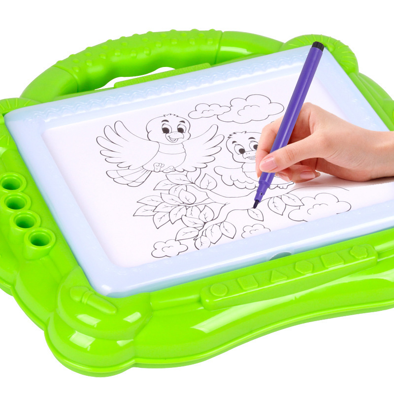 Writing Board Small Blackboard Color Painted Sketchpad Magnetic Backlight Light Doodle Board Learning Handwriting Board